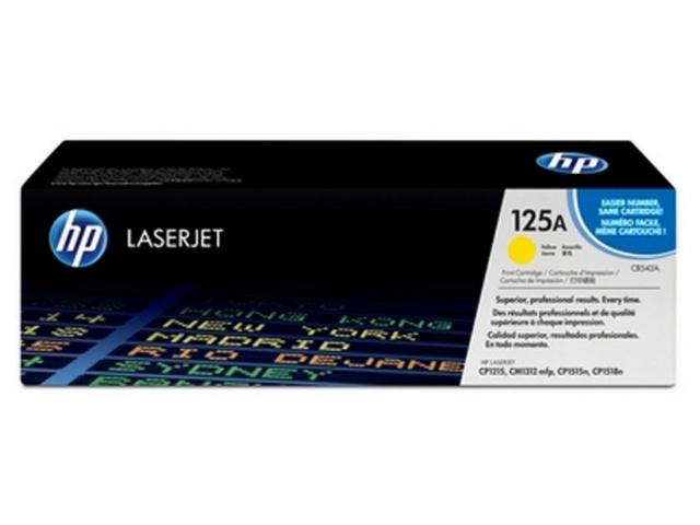 Toner Laser HP 125A LJ Color CP1215 YELLOW 1.4K Pgs