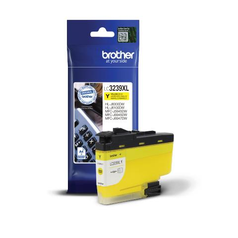Ink BROTHER LC-3239XLY Yellow - 5.000 σελ.