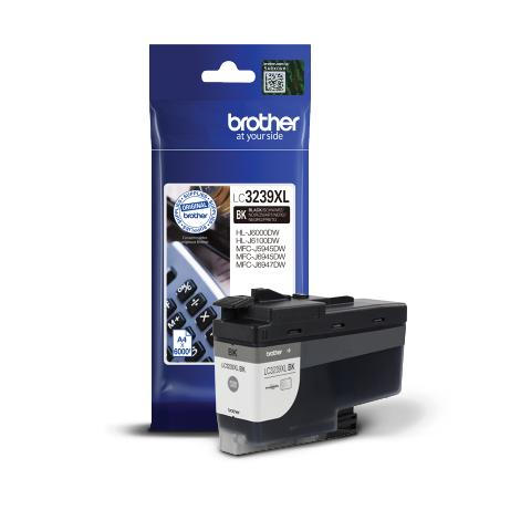Ink BROTHER LC-3239XLBK Black - 6.000 σελ.