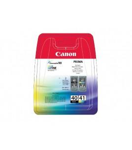 Ink CANON PG 40 & CL 41 Black & Colour - 490 σελ. (0615B043)