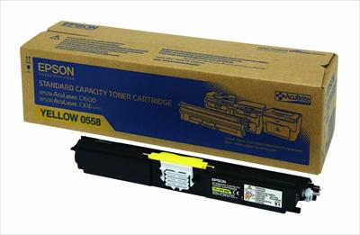 Toner EPSON C13S050558 Yellow-1.600 σελ.