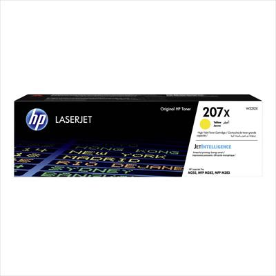 Toner HP 207X Yellow-2.450 σελ. (W2212X)