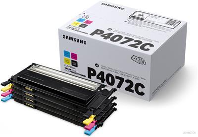 Toner SAMSUNG-HP CLT-P4072C Rainbow kit (1 Black-1 Cyan-1 Magenta-1 Yellow) - 1.500 σελ. (SU382A)