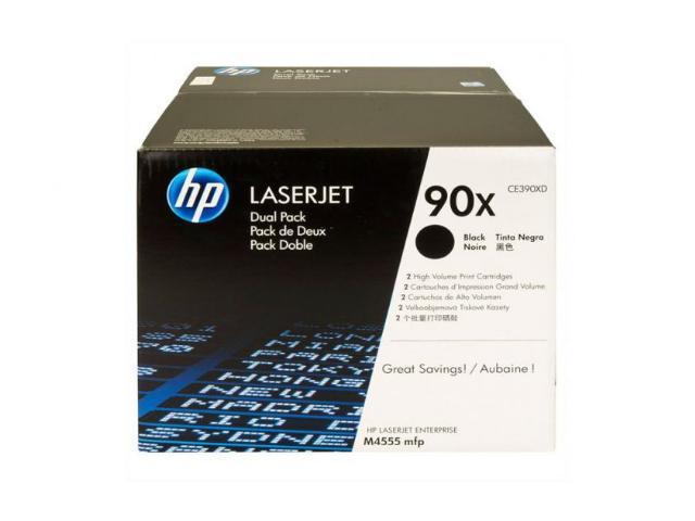 Toner Laser HP Dual Pack LJ M4555MFP Black with ColorSphere