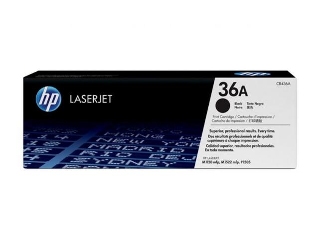 Toner HP 36A Black  - 2.000 σελ. (CB436A)